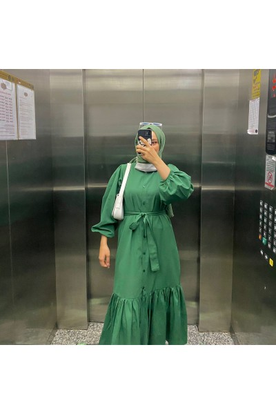 JULİ ELBİSE - Yeşil